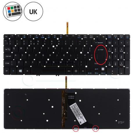Acer Aspire V5-531 Klávesnice pro notebook - anglická - UK + zprostředkování servisu v ČR