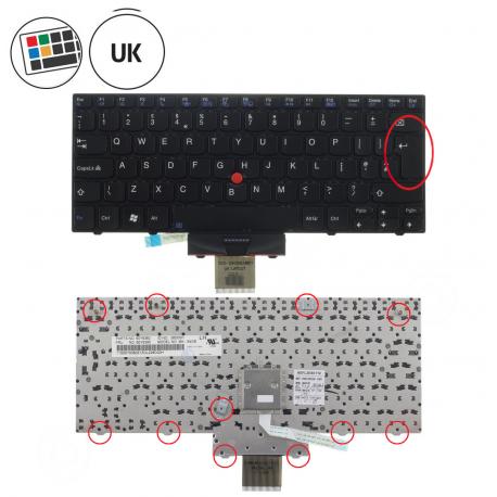 Lenovo ThinkPad X100e 2876 Klávesnice pro notebook - anglická - UK + doprava zdarma + zprostředkování servisu v ČR