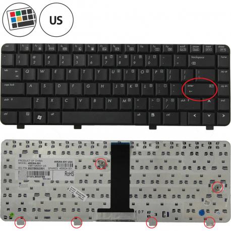 HP Compaq 6720s Klávesnice pro notebook - americká - US + zprostředkování servisu v ČR