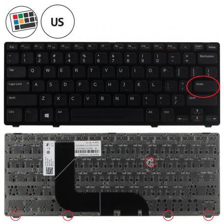 Dell Inspiron 14z Klávesnice pro notebook - americká - US + zprostředkování servisu v ČR