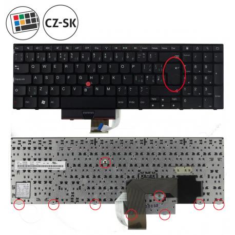 Lenovo ThinkPad Edge E520 Klávesnice pro notebook - CZ / SK + doprava zdarma + zprostředkování servisu v ČR