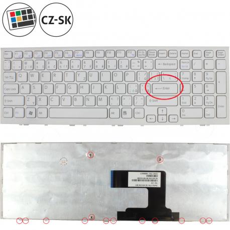 Sony Vaio VPC-EL22FX Klávesnice pro notebook - CZ / SK + doprava zdarma + zprostředkování servisu v ČR