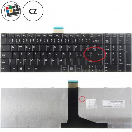 Toshiba Satellite c855-18n Klávesnice pro notebook - CZ / SK + zprostředkování servisu v ČR