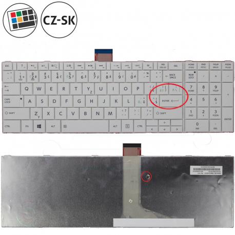 Toshiba Satellite c855-10t Klávesnice pro notebook - CZ / SK + zprostředkování servisu v ČR