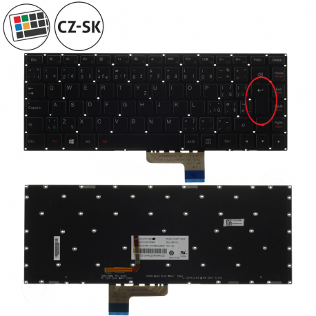 Lenovo IdeaPad Yoga 2 Klávesnice pro notebook - CZ / SK + doprava zdarma + zprostředkování servisu v ČR