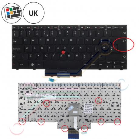 Lenovo ThinkPad Edge 13 Klávesnice pro notebook - anglická - UK + doprava zdarma + zprostředkování servisu v ČR