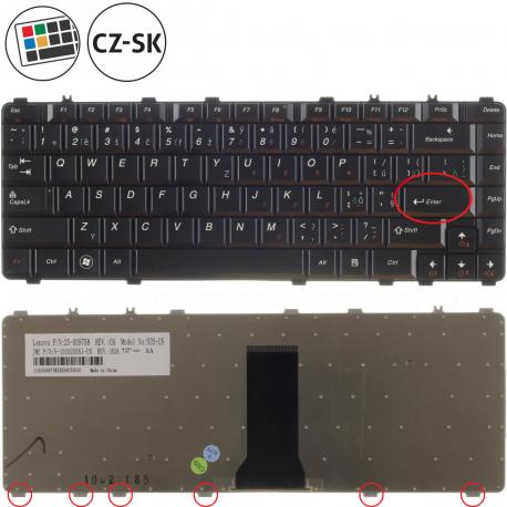 Lenovo IdeaPad Y550 Klávesnice pro notebook - CZ / SK + zprostředkování servisu v ČR
