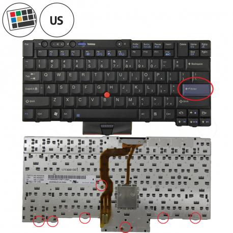 Lenovo ThinkPad T410i Klávesnice pro notebook - americká - US + doprava zdarma + zprostředkování servisu v ČR