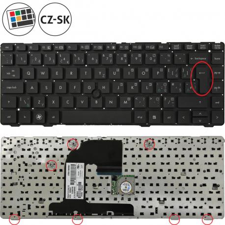 HP EliteBook 8470p Klávesnice pro notebook - CZ / SK + doprava zdarma + zprostředkování servisu v ČR
