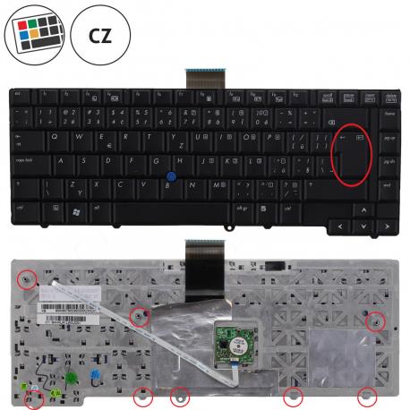 HP EliteBook 6930p Klávesnice pro notebook - CZ + doprava zdarma + zprostředkování servisu v ČR