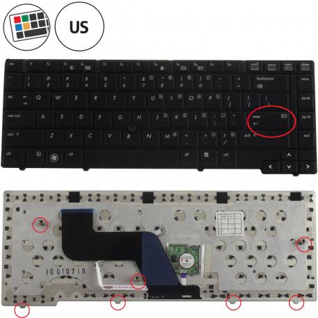 HP ProBook 6450b Klávesnice pro notebook - americká - US + zprostředkování servisu v ČR