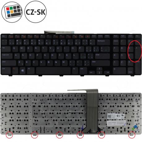 Dell Inspiron 17R Klávesnice pro notebook - CZ / SK + zprostředkování servisu v ČR