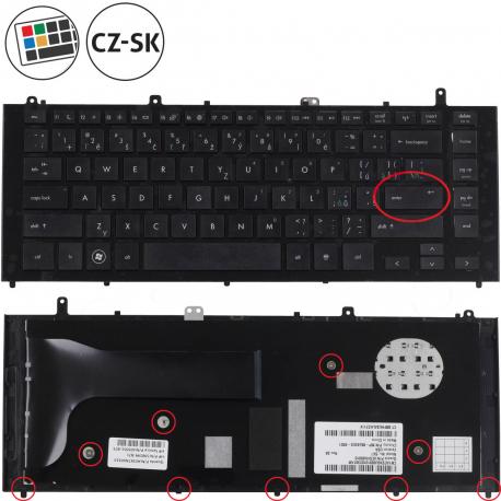 HP ProBook 4425s Klávesnice pro notebook - CZ + doprava zdarma + zprostředkování servisu v ČR