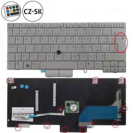 HP EliteBook 2760p Klávesnice pro notebook - CZ / SK + doprava zdarma + zprostředkování servisu v ČR