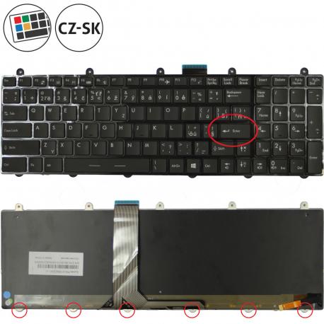 MSI GE70 2PE Apache Pro Klávesnice pro notebook - CZ / SK + doprava zdarma + zprostředkování servisu v ČR