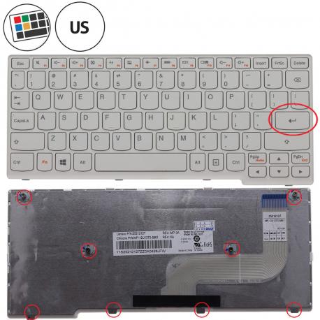 Lenovo IdeaPad S210T Series Klávesnice pro notebook - americká - US + zprostředkování servisu v ČR