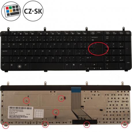 HP Pavilion dv7-3190ec Klávesnice pro notebook - CZ / SK + doprava zdarma + zprostředkování servisu v ČR