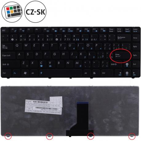Asus K43SV Klávesnice pro notebook - CZ / SK + doprava zdarma + zprostředkování servisu v ČR