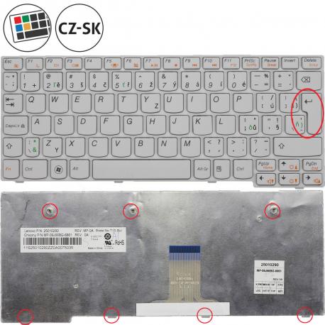 Lenovo IdeaPad S10-3 Klávesnice pro notebook - CZ / SK + doprava zdarma + zprostředkování servisu v ČR