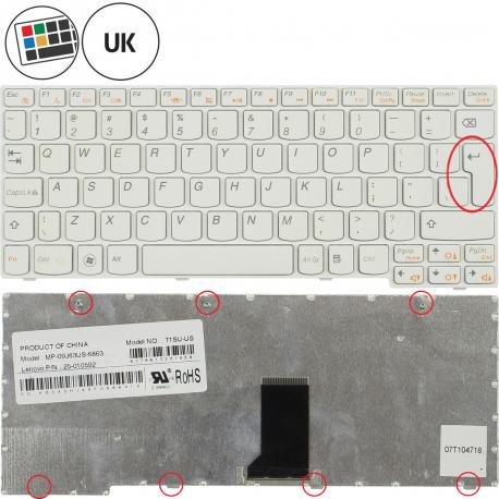 Lenovo IdeaPad S10-3s Klávesnice pro notebook - anglická - UK + zprostředkování servisu v ČR