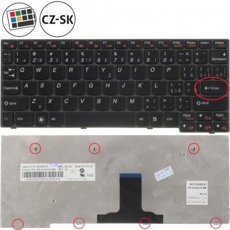 Lenovo IdeaPad S205 Klávesnice pro notebook - CZ / SK + doprava zdarma + zprostředkování servisu v ČR