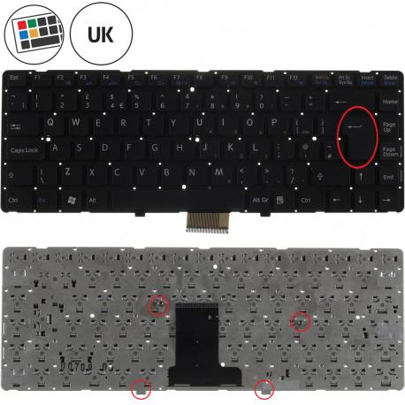 Sony Vaio VPC-EA3L1E Klávesnice pro notebook - anglická - UK + zprostředkování servisu v ČR