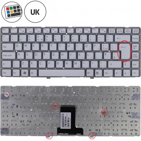 Sony Vaio VPC-EA33FX Klávesnice pro notebook - anglická - UK + doprava zdarma + zprostředkování servisu v ČR