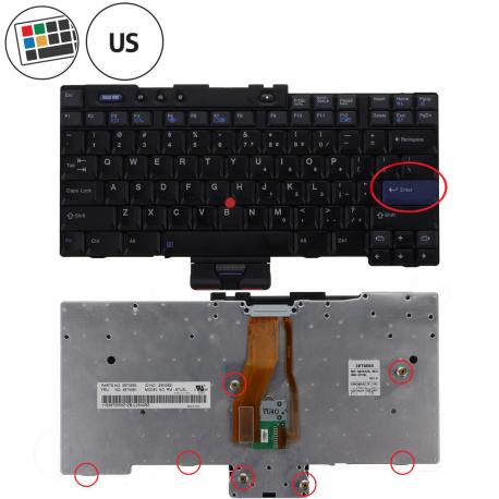 Lenovo ThinkPad T43p Klávesnice pro notebook - americká - US + zprostředkování servisu v ČR