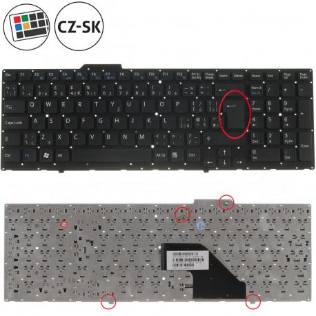 Sony Vaio VPC-F12LGX Klávesnice pro notebook - CZ / SK + doprava zdarma + zprostředkování servisu v ČR