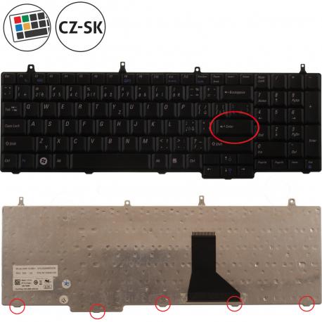 Dell Vostro 1720 Klávesnice pro notebook - CZ / SK + doprava zdarma + zprostředkování servisu v ČR
