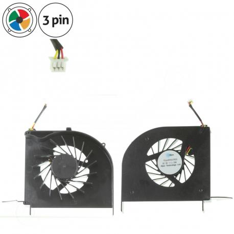 HP Pavilion dv6-1000 Ventilátor pro notebook - 3 piny plast + zprostředkování servisu v ČR