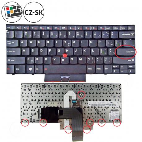 Lenovo ThinkPad Edge E420 Klávesnice pro notebook - CZ / SK + doprava zdarma + zprostředkování servisu v ČR