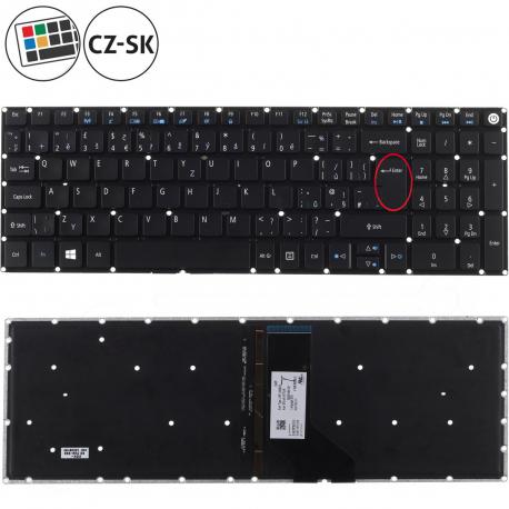 Acer Aspire E5-573G Klávesnice pro notebook - CZ / SK + doprava zdarma + zprostředkování servisu v ČR