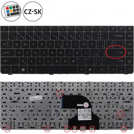 HP ProBook 4330s Klávesnice pro notebook - CZ / SK + doprava zdarma + zprostředkování servisu v ČR