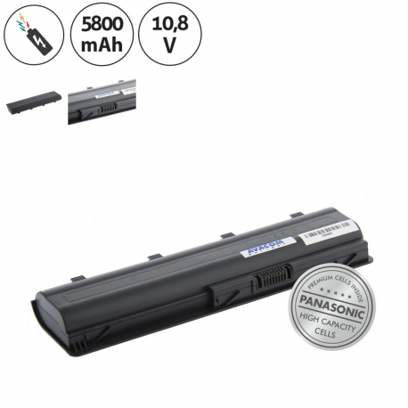 HP Pavilion dv6-6010ec Baterie pro notebook - 5800mAh 6 článků + doprava zdarma + zprostředkování servisu v ČR