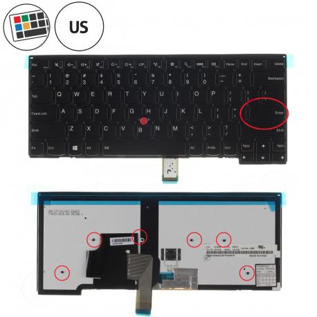 Lenovo ThinkPad Edge E431 Klávesnice pro notebook - americká - US + doprava zdarma + zprostředkování servisu v ČR