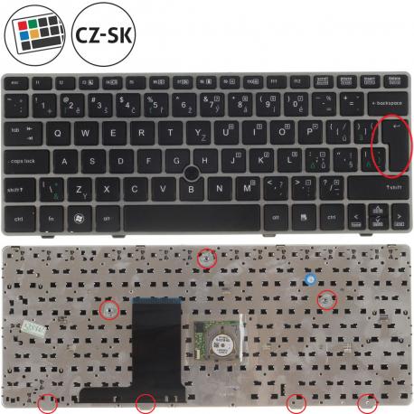 HP EliteBook 2560p Klávesnice pro notebook - CZ / SK + doprava zdarma + zprostředkování servisu v ČR