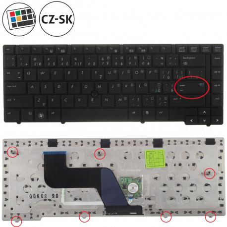 HP EliteBook 8440p Klávesnice pro notebook - CZ / SK + doprava zdarma + zprostředkování servisu v ČR