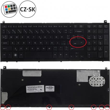 HP ProBook 4520s Klávesnice pro notebook - CZ / SK + doprava zdarma + zprostředkování servisu v ČR