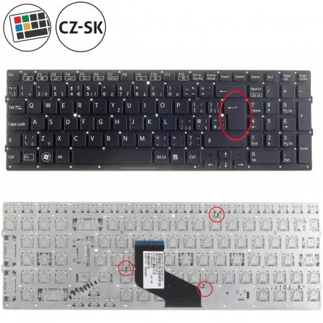 Sony Vaio VPC-F23N1E Klávesnice pro notebook - CZ / SK + doprava zdarma + zprostředkování servisu v ČR