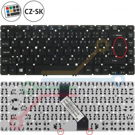 Acer Aspire M5-481TG Klávesnice pro notebook - CZ / SK + zprostředkování servisu v ČR