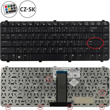 Compaq 610 Klávesnice pro notebook - americká - US + zprostředkování servisu v ČR