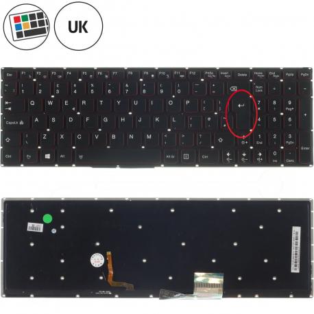 Lenovo Y50-70 Klávesnice pro notebook - anglická - UK + doprava zdarma + zprostředkování servisu v ČR