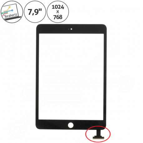 Apple iPad Mini A1432 Dotykové sklo pro tablet - černá + zprostředkování servisu v ČR