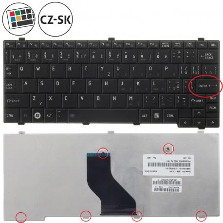 Toshiba Mini NB500 Klávesnice pro notebook - CZ / SK + doprava zdarma + zprostředkování servisu v ČR