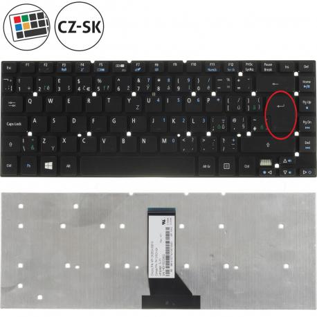 Acer Aspire ES1-511-C8HC Klávesnice pro notebook - CZ / SK + zprostředkování servisu v ČR