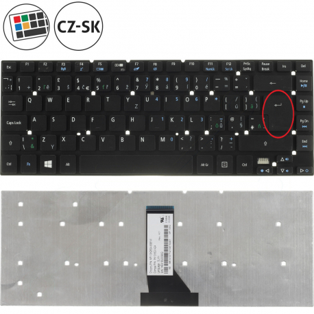 Acer Aspire 3830TG Klávesnice pro notebook - CZ / SK + zprostředkování servisu v ČR