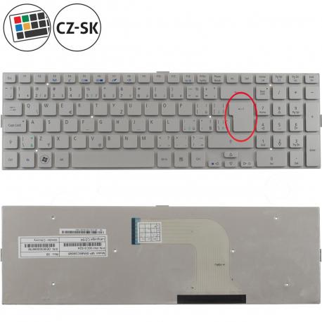 Acer Aspire 5943G Klávesnice pro notebook - CZ / SK + zprostředkování servisu v ČR