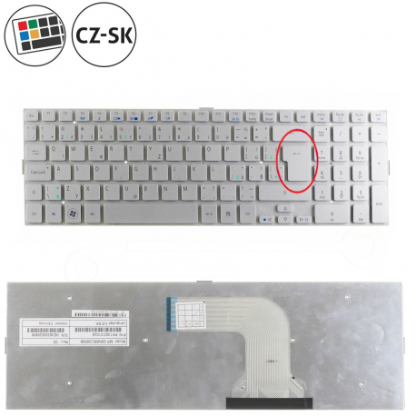 Acer Aspire 8950G Klávesnice pro notebook - CZ / SK + zprostředkování servisu v ČR