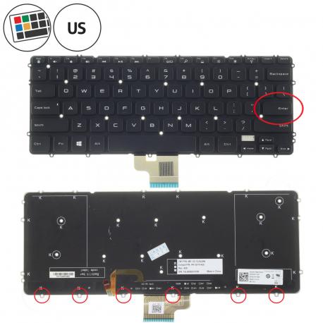 Dell XPS 15 9530 Klávesnice pro notebook - americká - US + zprostředkování servisu v ČR